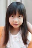 亚洲女孩 免版税库存照片