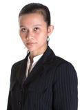 亚洲女实业家肖象VII 免版税库存照片