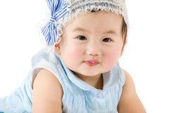 亚洲女婴 库存图片