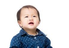 亚洲女婴 免版税库存图片
