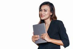 亚洲妇女微笑 库存图片