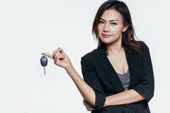 亚洲妇女藏品 免版税库存图片