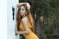 亚洲妇女画象摄影 免版税图库摄影
