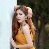 亚洲妇女画象摄影 图库摄影