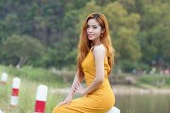 亚洲妇女画象摄影 库存图片