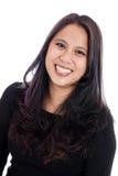 亚洲妇女画象 免版税图库摄影