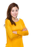 亚洲妇女年轻人 库存照片
