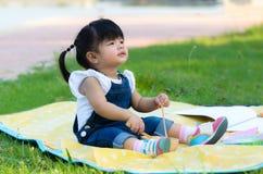亚洲孩子画象  免版税库存照片