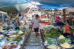 亚洲市场 免版税库存照片