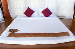 亚洲式按摩床垫 免版税库存照片