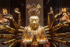 亚洲文明博物馆内部 图库摄影