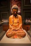 亚洲文明博物馆内部 库存照片