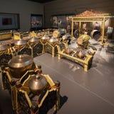 亚洲文明博物馆内部 免版税库存照片