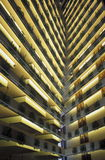 亚洲新加坡市进城建筑学旅馆 库存图片