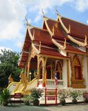 亚洲旅行泰国文化寺庙宗教 免版税库存照片