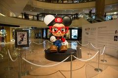 亚洲旅馆艺术公平的香港2014年 免版税库存照片