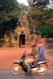 亚洲柬埔寨吴哥东部MEBON 免版税库存图片