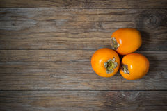 亚洲柿树果子 免版税库存照片