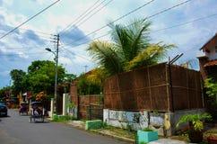 亚洲样式房子 免版税库存照片
