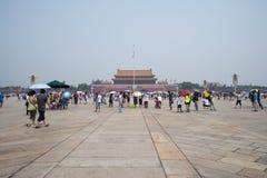 亚洲汉语,北京,天安门广场 图库摄影