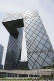 亚洲汉语,北京, CCTV总部 免版税库存图片