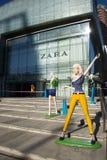 亚洲汉语,北京, gemdale广场,全面商业大厦 免版税库存图片