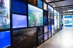 亚洲汉语,资本博物馆,北京,对北部水转换项目陈列的南部 免版税库存图片