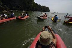 亚洲泰国普吉岛RAWAI 库存照片