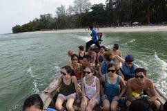 亚洲泰国普吉岛RAWAI 免版税库存图片