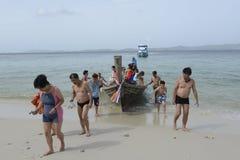 亚洲泰国普吉岛RAWAI 免版税库存照片