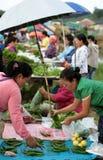 亚洲泰国清迈城镇DAO市场 库存图片