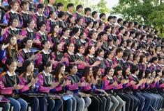 亚洲泰国清迈WAT帕纳陶 免版税库存图片
