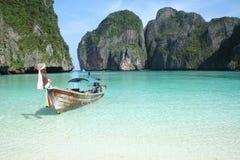 亚洲海滩天堂 免版税库存照片