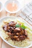亚洲猪肉米 库存图片
