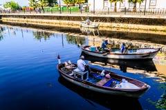 亚洛瓦市的渔夫 库存图片
