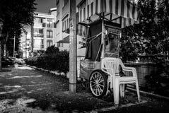 亚洛瓦市的街道和人们 免版税图库摄影