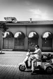 亚洛瓦市的街道和人们 库存图片
