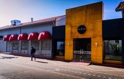 亚洛瓦市的街道和人们 免版税库存图片