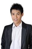 亚洲生意人 免版税库存照片