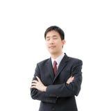 亚洲生意人 免版税图库摄影