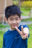 亚洲男孩年轻人 库存照片