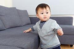 亚洲男婴 库存图片