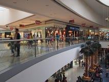 亚洲的里面购物中心 库存图片