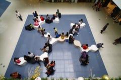 亚洲的购物中心 免版税库存照片
