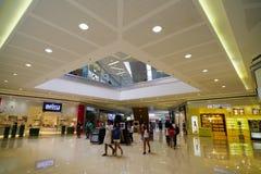 亚洲的购物中心 免版税库存图片