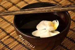 亚洲碗食物 免版税库存图片