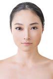 亚洲秀丽面孔 免版税库存图片