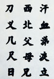 亚洲符号 免版税库存图片