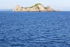 亚洲缅甸lomprayah海湾小岛海 库存照片