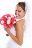 亚洲美好的新娘婚礼 库存照片